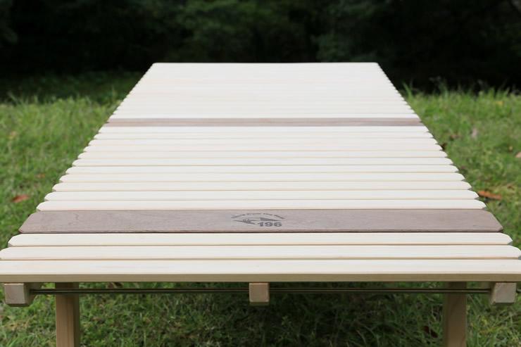 ウッドテーブル KUROSON 370 2つ折り フォールディング