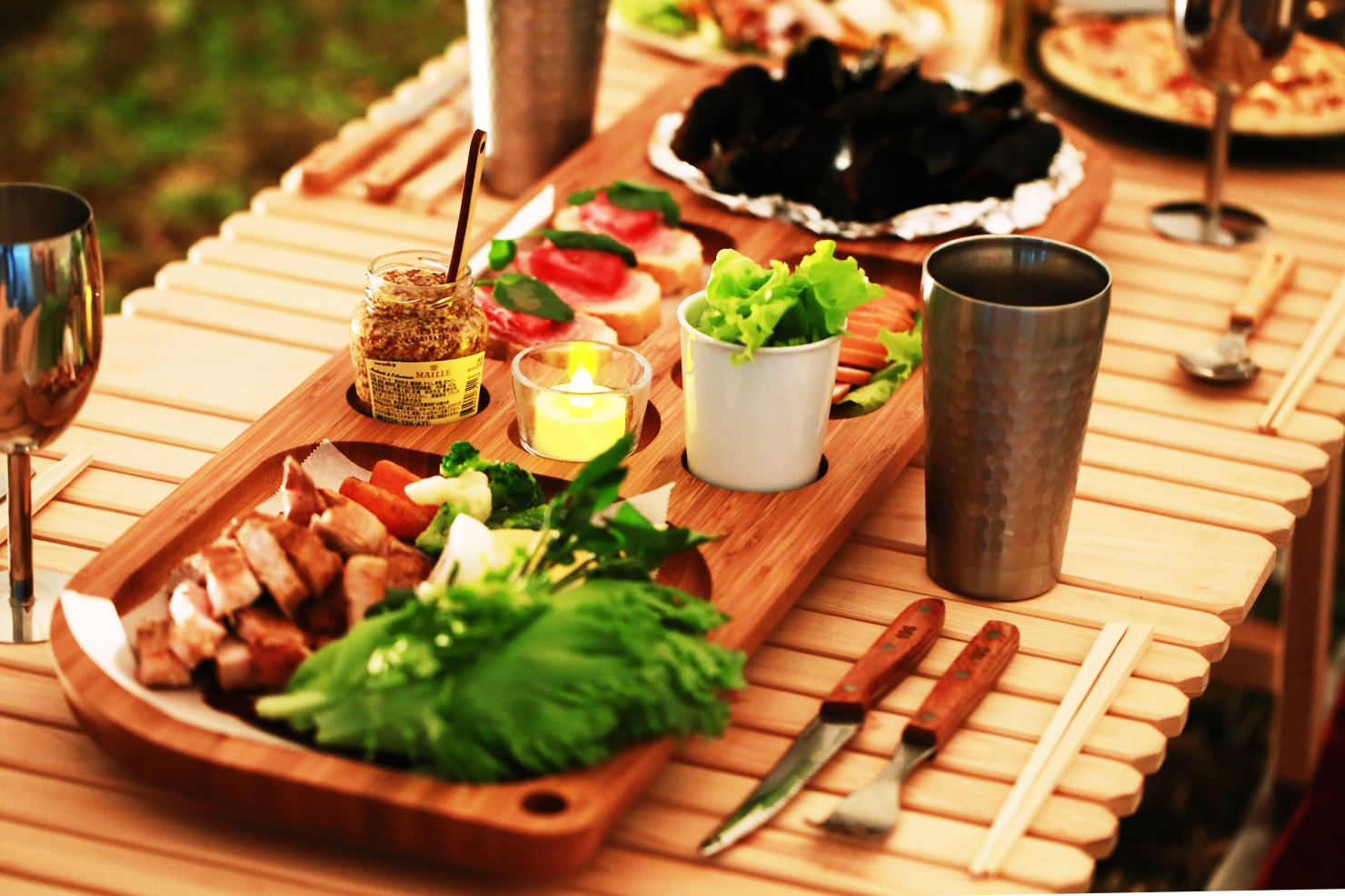 竹 バンブー 食器 テーブルウェア
