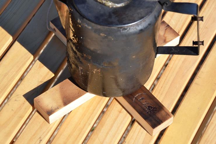 鍋敷き ダッチオーブン 木製 キャンプ
