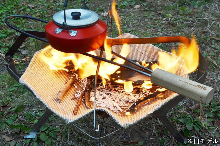 焚き火 五徳 グリル グリルブリッジ ウリン 新型