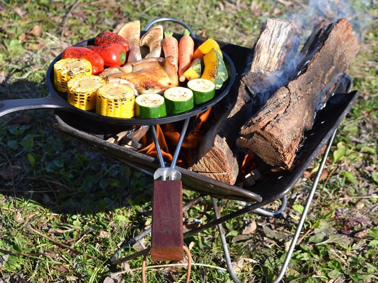 焚き火 焚火 たき火 五徳 グリルブリッジ キャンプ キャンプ用品