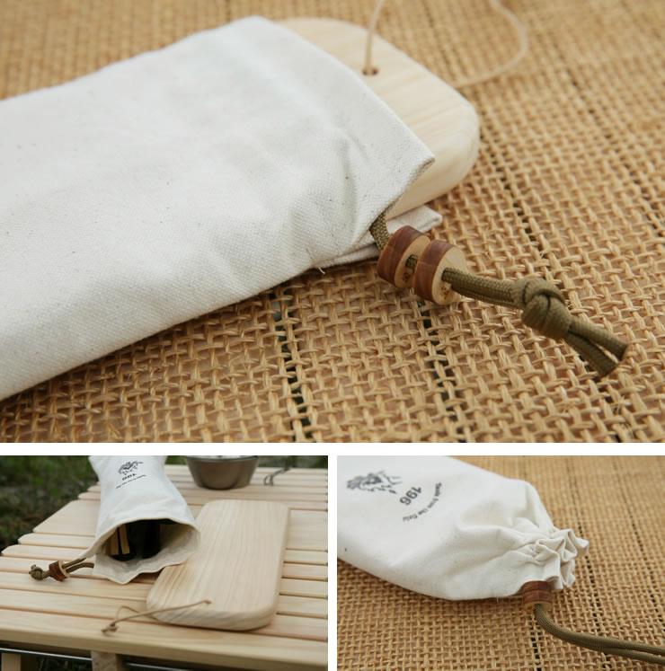 キャンプ 道具 用品 帆布 ケース