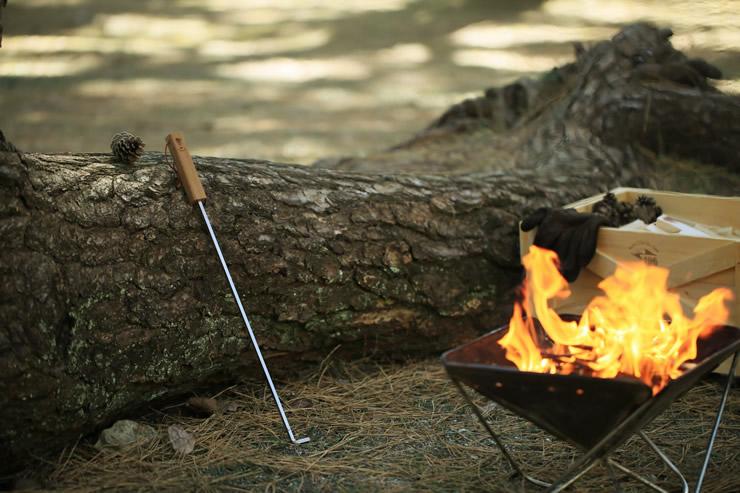 火掻き棒 焚き火 五徳 オプション