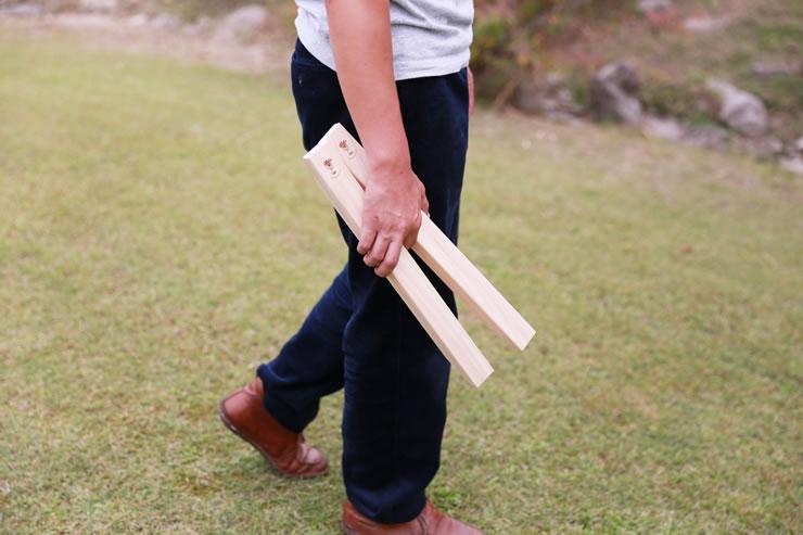 クーラースタンド 木製