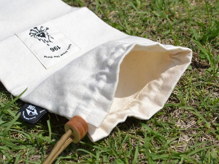 キャンプ ケース 収納 小物 ペグ カトラリー 帆布